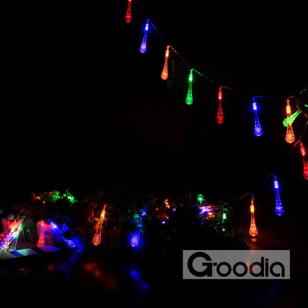 4.3M led string lights with 40led ball AA batteries holiday decoration lamp Festival Christmas lights outdoor lighting