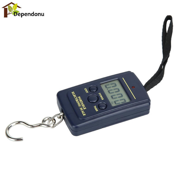 40kg 10g Portable Mini Electronic Digital Hanging Scale Luggage Balanca Digital Handy Pocket Weight Hook Scale