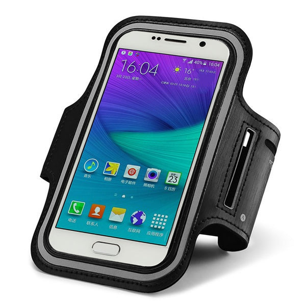5.2 inch -5.8 inch For Xiaomi Note 4x Meizu Pro 6 Case A8 Max Armband For ASUS ZenFone Go ZB500KL Waterproof Arm Band Belt Cover