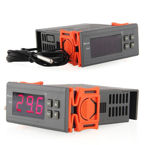 -50~110 Celsius Degree 220V 5A Digital Temperature Controller Thermocouple Instrument Diagnostic Temperature Measuring Tool