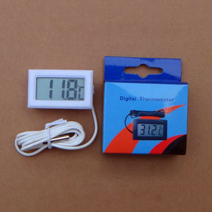 -50~110 Degree Thermometer Thermograph Digital LCD Probe Fridge Freezer for Refrigerator Temperature Measurement