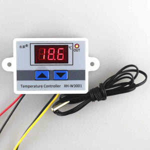 -50~110C Intelligent Digital Thermostat AC 220V 10A Digital Temperature Controller Regulator Switch