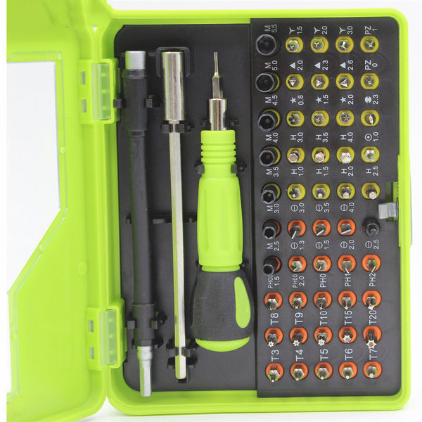 53 in 1 Multi-purpose Precision Magnetic Hand Screwdriver Set Electrical Household HandTool Set for Phone PC Repair AT 0117