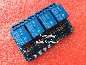 5V 4-Channel Relay Module Shield for Arduino ARM PIC AVR DSP Electronic 5V 4 Channel Relay Module