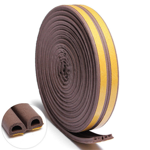 5M D E P Type Foam Draught Excluder Self Adhesive Window Door Seal Strip For Door Accessories