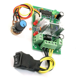 6-30V DC Motor Speed Controller Reversible PWM Control Forward Reverse  switch