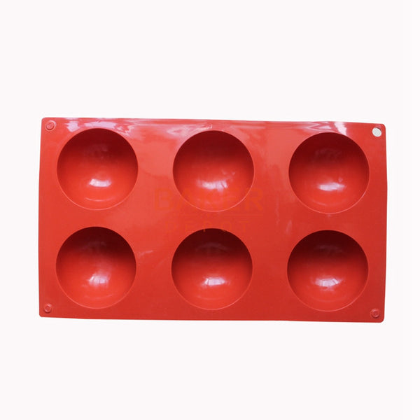 6 even the large domed DIY silicone cake mold handmade soap molds Jelly pudding silicone chocolate mould CDSM-216
