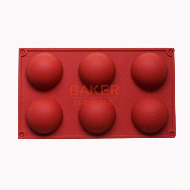 6 even the large domed DIY silicone cake mold soap mold Jelly pudding silicone chocolate molds CDSM-216