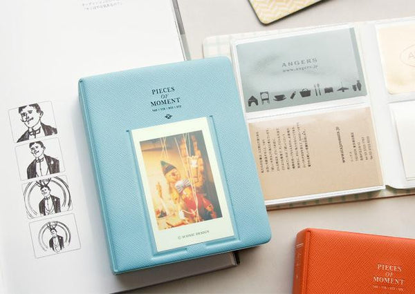 64 Pockets Polaroid Camera Pieces of Moment Photo Album Holder Candy Color Album for Mini Fuji Instax & Name Card 7s 8 25 50s