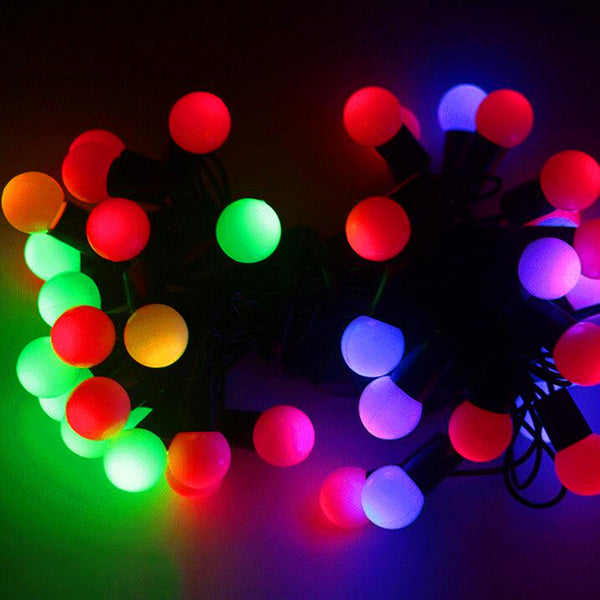 7m Fairy Christmas lights LED string lights ball Garland luci natale holiday new year wedding decoration lamp lighting strings