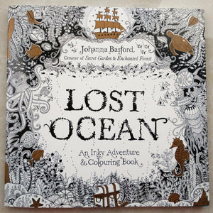88 Pages Secret Garden Serie Lost Ocean Adult Coloring Colouring