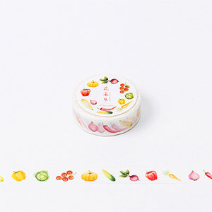 8M Foods Series Watermelon washi tape DIY decoration scrapbooking planner masking tape adhesive tape label sticker stationery