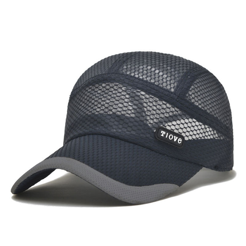 ...  AETRENDS  2016 Summer Breathe Freely Mesh Baseball Cap Men Outdoor  Sport Hats Bone Cap ... aca1c03a7b64