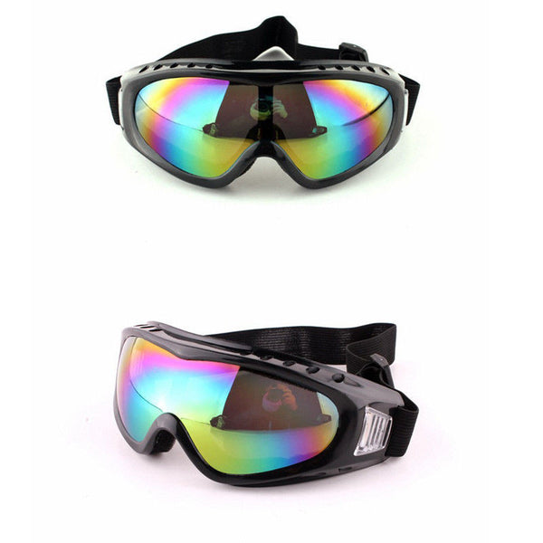 Adjustable Vented Anti-fog Anti-dust Safety Goggles Tactical Glasses Eyewear Outdoor Airsoft Paintball Hunting Eyes Protection