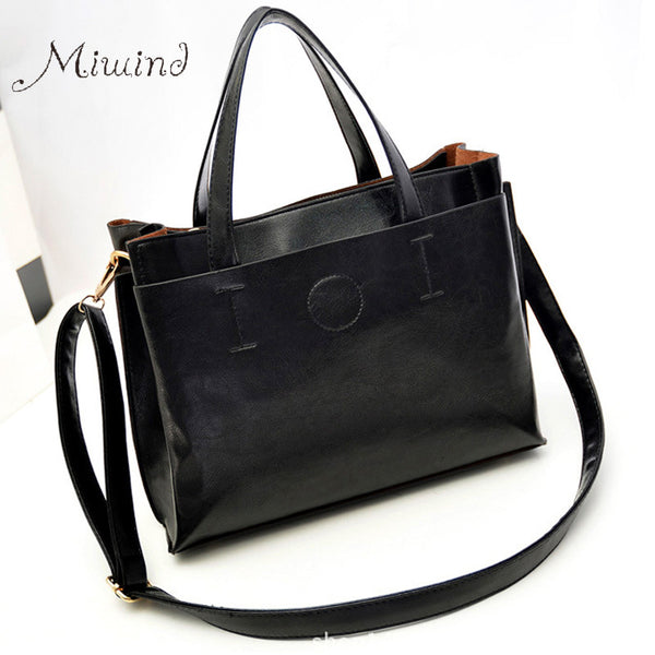 Miwind Thread Pu Handbags Women Bg185
