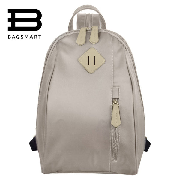 Bagsmart Belts Solid Nylon Backpacks Women Ou0004058