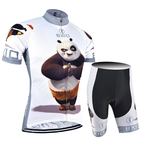 BXIO Funny Cycling Jersey Short Sleeve Bike Clothing Roupas Para Ciclismo Mujer 2017 Spirng Bicycle Clothes BX-0209XM081
