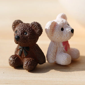 Bear Cartoon Animals Miniature Figurines Toys Cute Lovely Model Kids Toy 2cm OPP PVC Japan Anime Children Action Figure. PY079