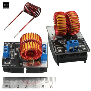 Best Promotion 5 v ~ 12 v ZVS induction heating power supply module + coil Wholesale price New Electric Modules Board