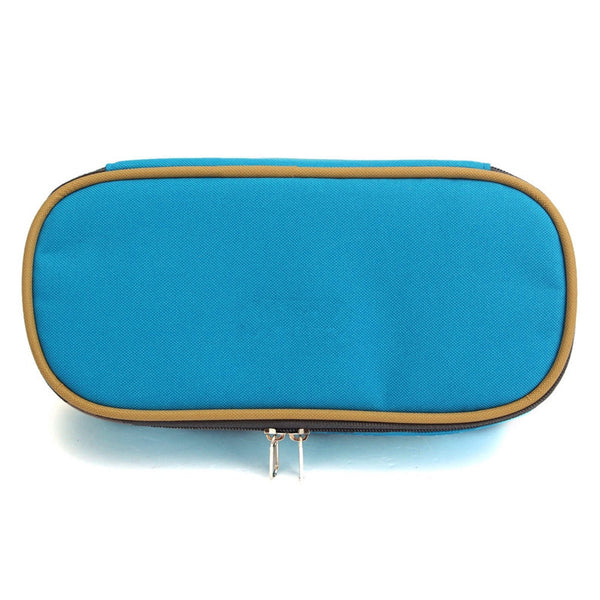 Best Promotion Large Capacity Multifunctional Canvas Pencil Case Pen Cosmetic Travel Bags Box Office School Kids Stationery