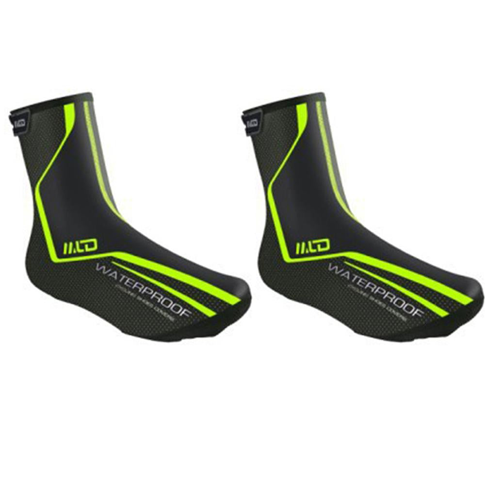 Bicycle Breathable Shoe Covers Cycling Overshoes Windproof Outdoor Bike Zippered Overshoes M L X L Free Shipping