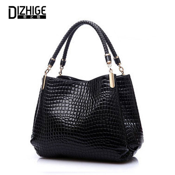 Dizhige Sequined Alligator Pu Handbags Women 014