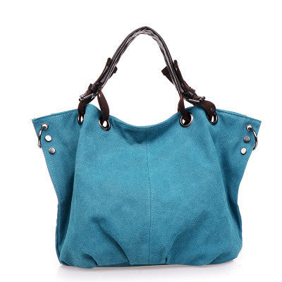 Dizhige Solid Canvas Handbags Women Wt096