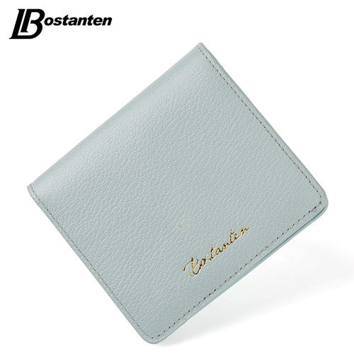 Bostanten Letter Genuine Leather Wallet Women Bl354123k