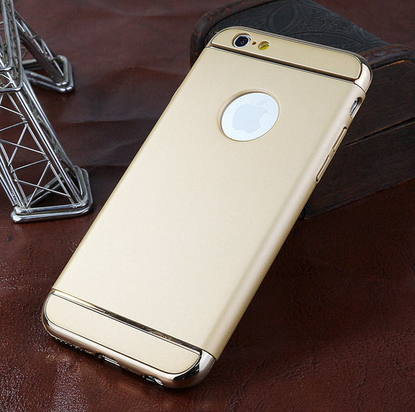 Brand Case For Iphone 6 6S 7 5S 5 S Phone Cover Ultra Thin Hard Plastic Cover 360 Degree Protection Back Cover For Iphone 6S 6