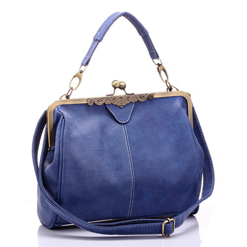 Vanden Borre Solid Pu Handbags Women Rhnwb0177