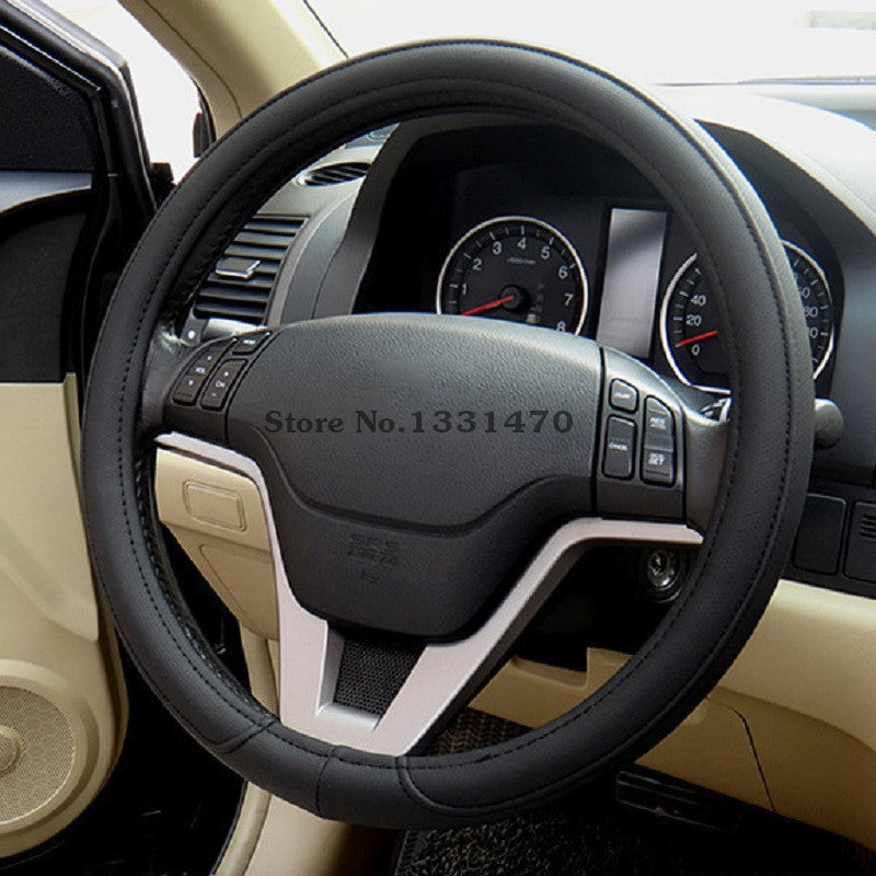 CAR STEERING WHEEL COVER MULTI CHOICE SIZE M DIAMETER 38CM AUTOMOTIVE INTERIOR ACCESSORIES FREE SHIPPING