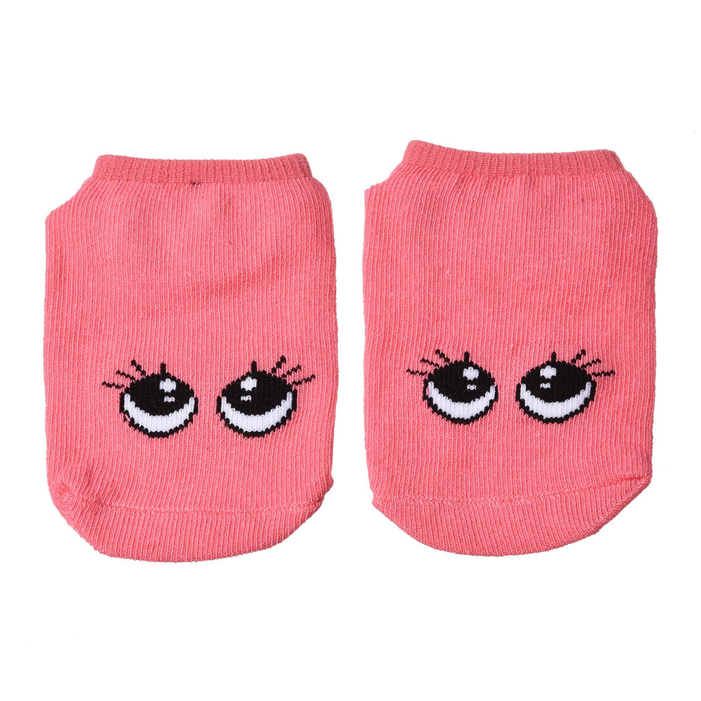 0-3Y Baby Girls Boy Cartoon Socks Anti-Slip Cotton Toddler Kids Warm Ankle Cute