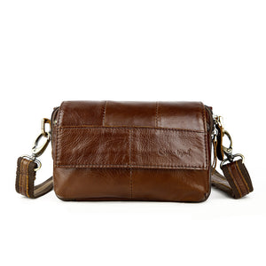 Cobbler Legend Patchwork Genuine Leather Handbags Women 803211