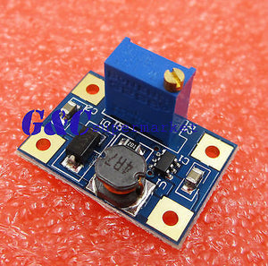 DC-DC Converter SX1308 2A Step-UP Adjustable Power Module Booster
