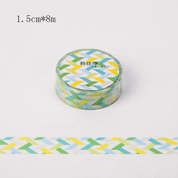 DIY Cute Kawaii Dot Grid Washi Tape Lovely Raindrop Decorative Tape For Home Decoration Scrapbooking Free Shipping 3005