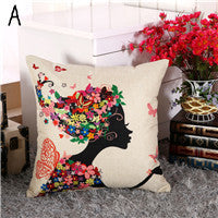 European Landscape Cushion(not including filling) Home Car Throw Pillows New Arrivel Cushions Decorative Throw Pillow C5
