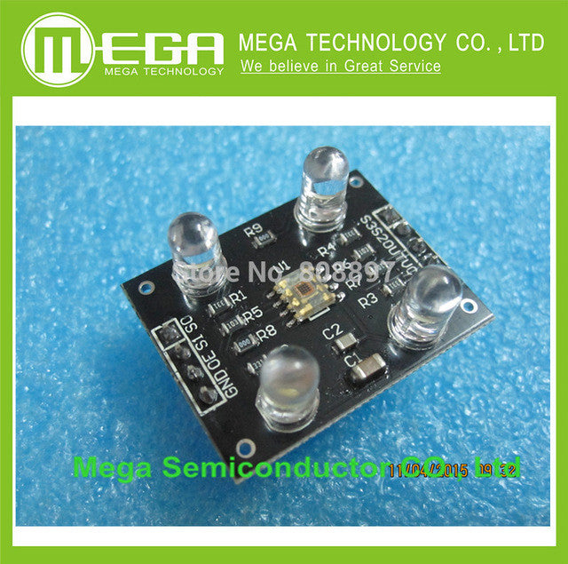 FREE SHIPPING TCS230 TCS3200 Color sensor Color recognition module