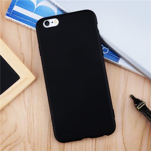Fashion Cute Candy Colorful protective shell Beautiful Ultrathin Soft TPU Phone Case for iPhone 6 6S 6 plus 6Splus 7 7Plus Cover