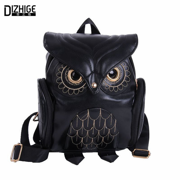 Dizhige Animal Prints Pu Backpacks Women Wb061