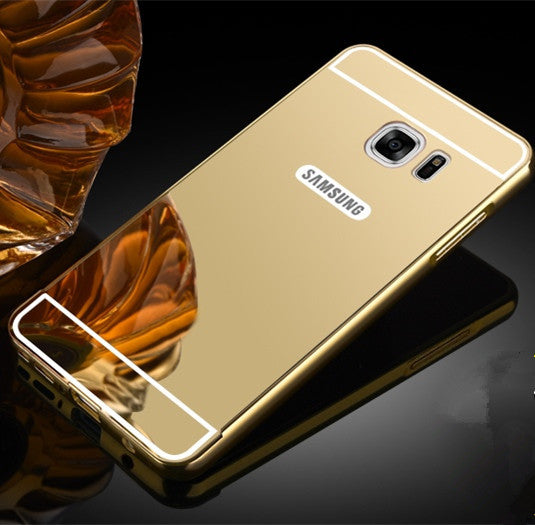 detailed look 5923f 25c5d Fashion Metal Mirror Case for Samsung Galaxy S3 S4 S5 S6 S7 Edge Plus A3 A5  A7 J5 J7 2016 Note 3 4 5 7 Protective Back Cover