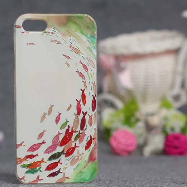 Flower 3D Relief Printing Silicone Case Cover For Apple iphone 5 5s Soft TPU Cases phone case for iPhone SE cover for iphone 5s