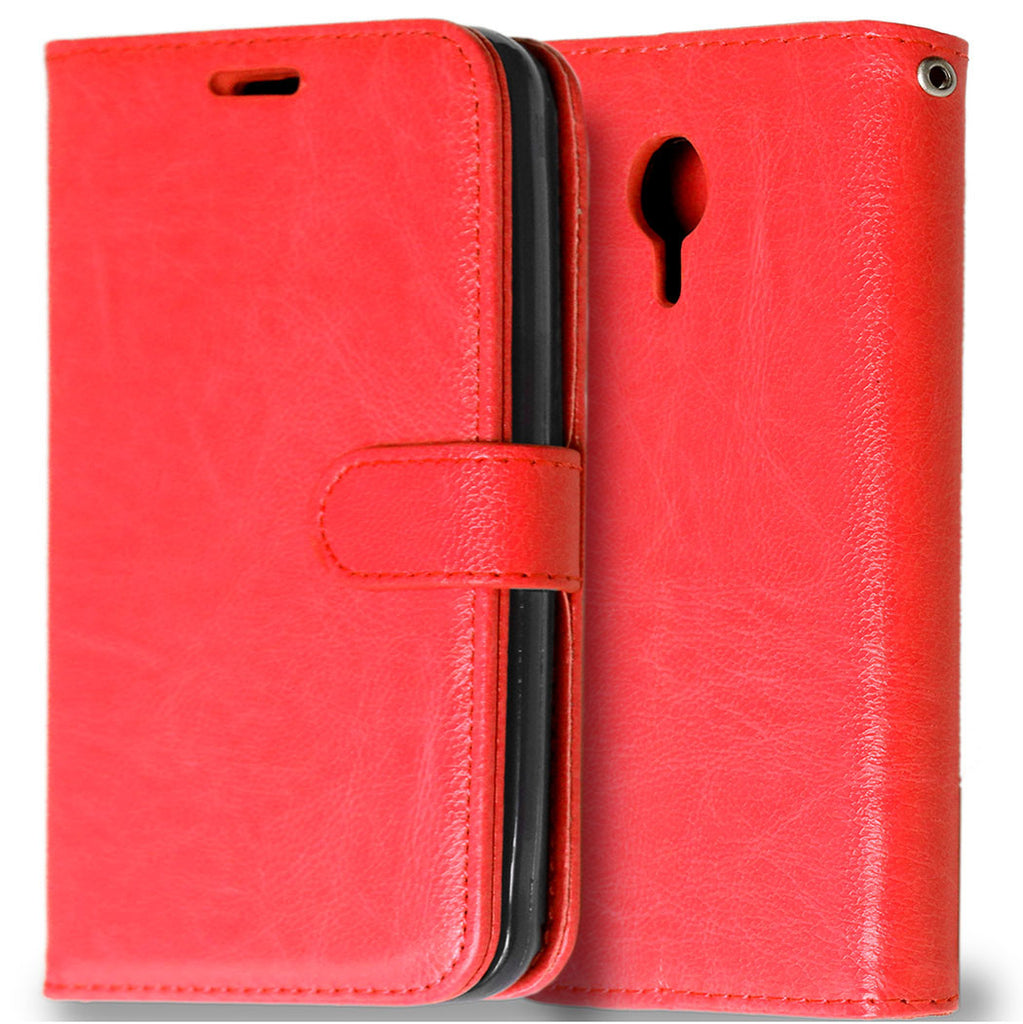 For Lenovo A319 Phone Cases Book Style Wallet PU Leather Case For