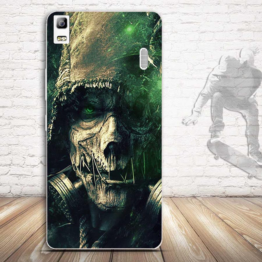 For Lenovo K3 Note A7000 Case 3D Relief Painting Soft Silicon Back Cover Case for Lenovo K3 Note A7000 Covers Pattern Skin