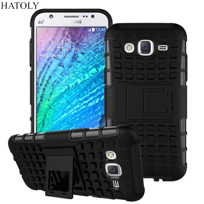 aa2ff62becf For Samsung Galaxy J5 Case J500F Heavy Duty Armor Shockproof Hybrid Hard  Silicone Rubber Phone Case ...