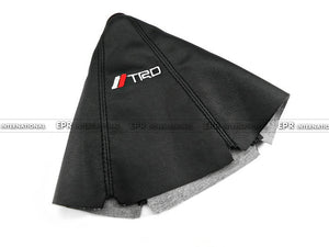 For Toyota TRD Gear Shift Knob Cover PU Gaiter Sleeve Glove Collars