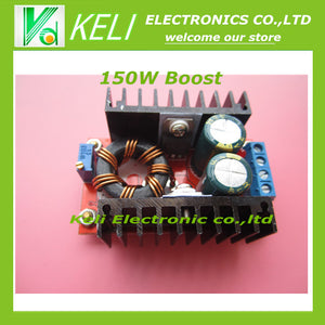Free Shipping 1pcs 150W Boost Converter DC-DC 10-32V to 12-35V Step Up Voltage Charger Module