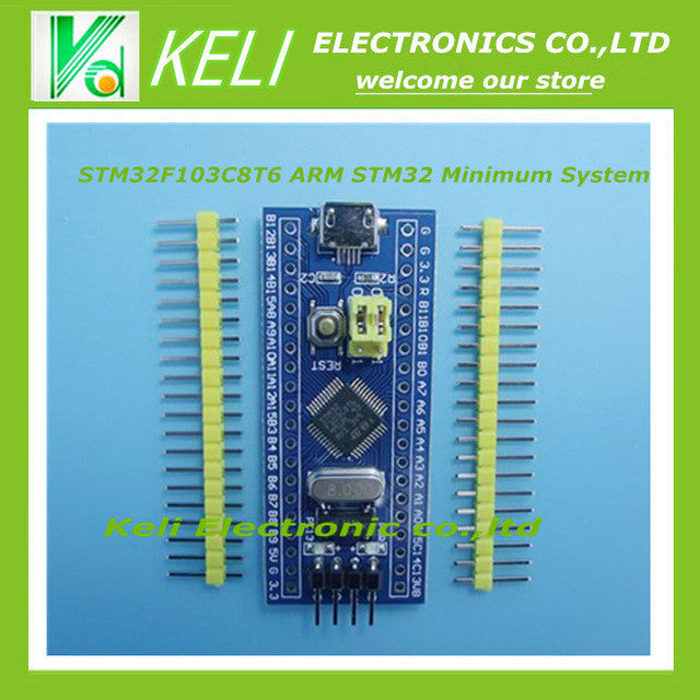 Free Shipping 1pcs STM32F103C8T6 ARM STM32 Minimum System Development Board Module For Arduin0 new