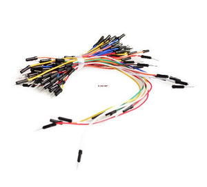 Free Shipping 65pcs Breadboard Jumper Cables For Arduino Jump Code Wire Kit Set..++