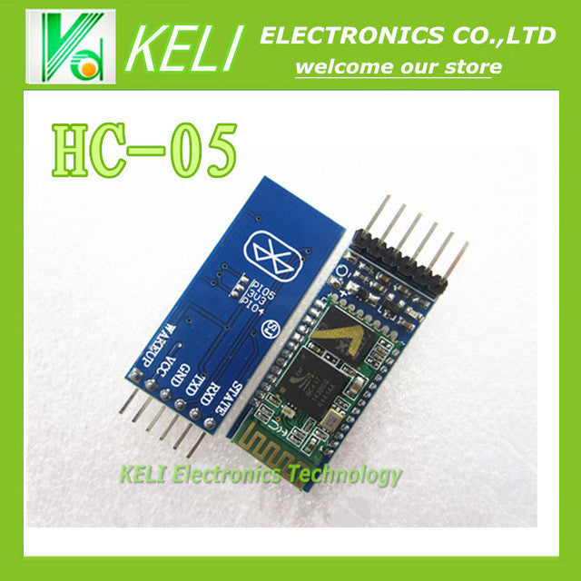 Free shipping 1PCS LOT HC05 HC-05 master-slave 6pin JY-MCU anti-reverse integrated Bluetooth serial pass-through module