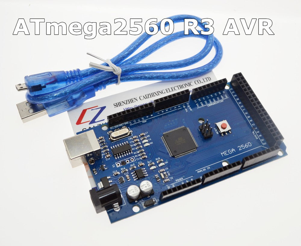 Free shipping MEGA 2560 R3 ATmega2560 R3 AVR USB board + Free USB Cable for Arduino 2560 MEGA2560 R3 We are the manufacturer